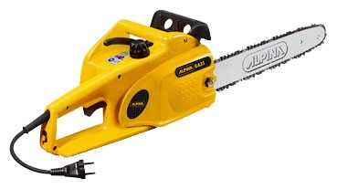 Buy ALPINA Synergy 35 electric chain saw online, Characteristics and Photo