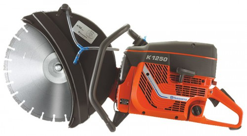 Buy Husqvarna K 1250-14 power cutters saw online, Characteristics and Photo