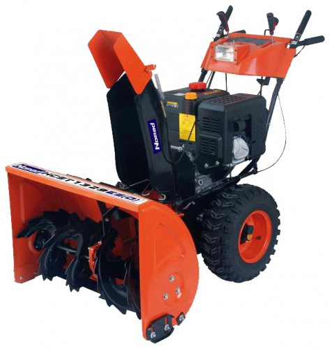 Buy Nomad KCST 1329ES(D) snowblower online, Characteristics and Photo