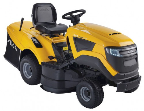 Buy STIGA Estate 5092 H garden tractor (rider) online, Characteristics and Photo
